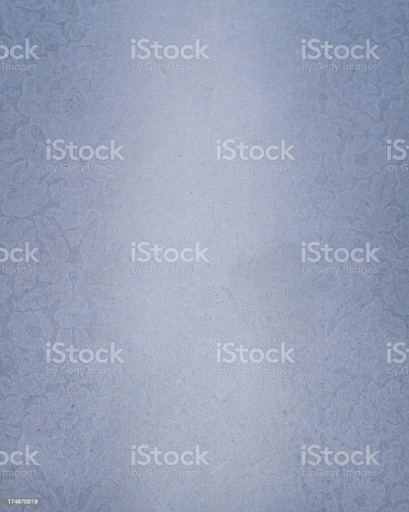 faded paper with floral borders royalty-free stock photo