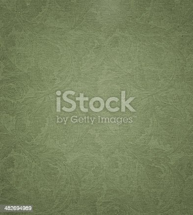 480646533 istock photo faded paper with floral pattern background texture 482694989