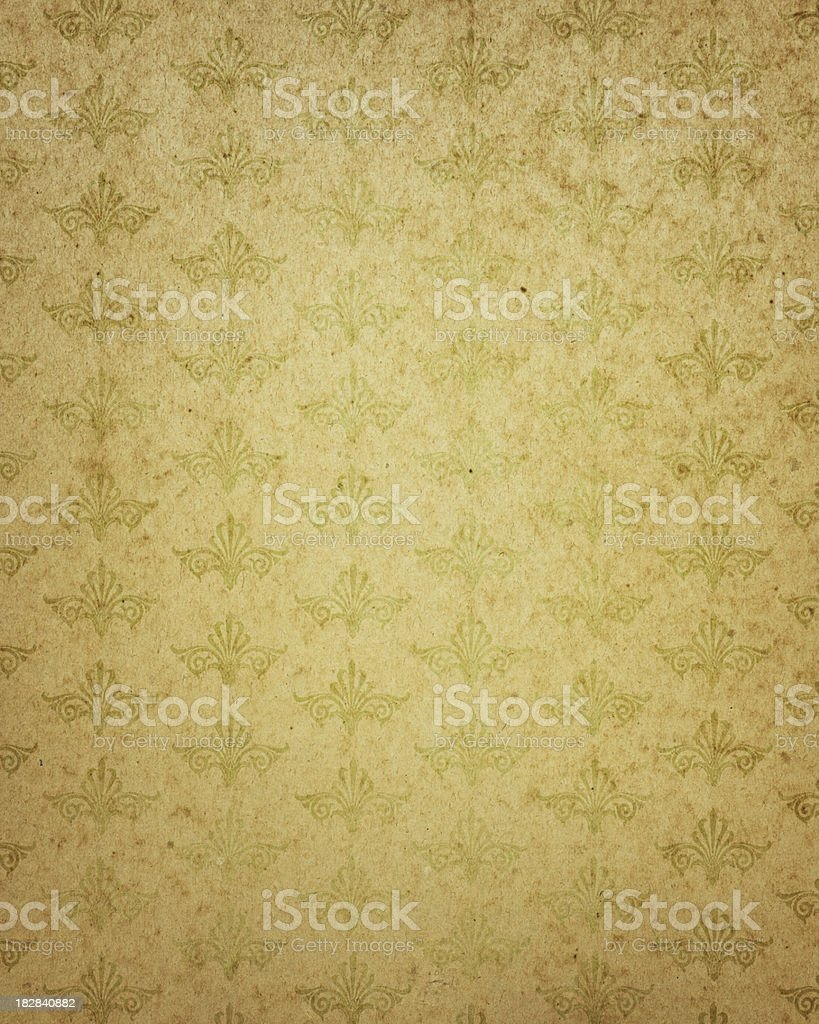 faded paper with pattern royalty-free stock photo