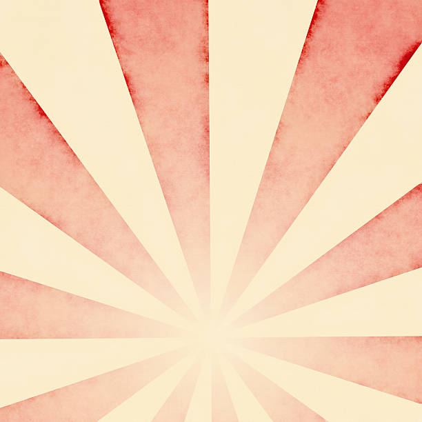 Faded Red Sunbeams Background  | Wallpaper Designs and Fabrics Close-up of faded red sunbeams background wallpaper.  High-resolution pattern with visible texture when zoomed at 100 per cent.  wallpaper sample stock pictures, royalty-free photos & images