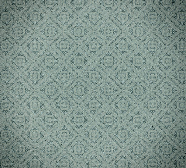 faded wallpaper with checked floral pattern This high resolution wallpaper inspired stock photo is ideal for backgrounds, textures, prints, websites and many other classic style art image uses! wallpaper sample stock pictures, royalty-free photos & images