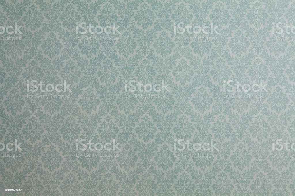 Faded Wallpaper With Pattern Stock Photo Download Image