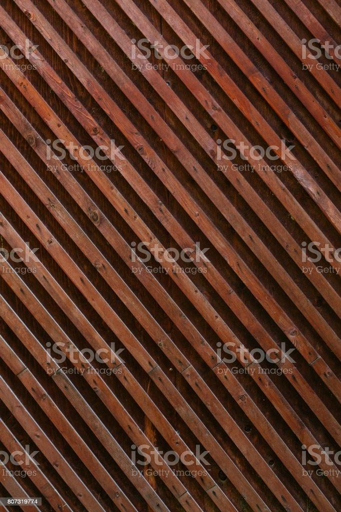 Desapareció el fondo de textura de madera entablonados parrilla cerca. Efecto vintage. - foto de stock