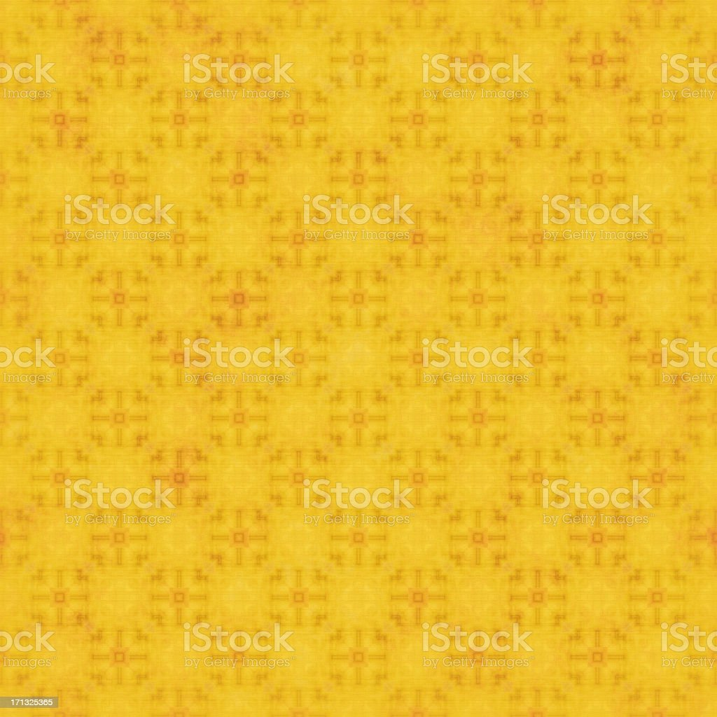 Faded Yellow Textile Pattern | Wallpaper Designs and Fabrics stock photo