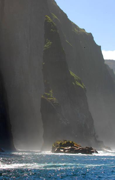 faeroe islands - imagean faroe islands stock photos and pictures