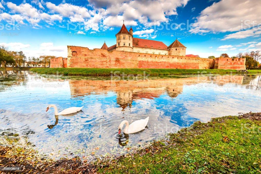 Fagaras, Transylvania - Romania stock photo