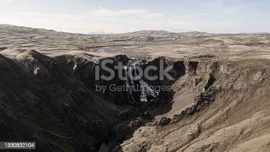 istock Fagrifoss Waterfall Panorama Highlands South Central Iceland 1330832104
