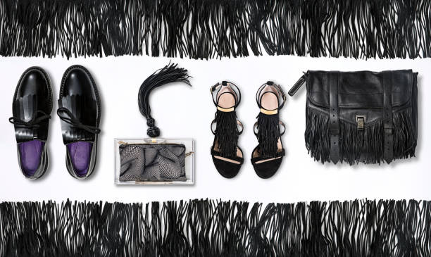 Fahionable Schuhe mit Taschen – Foto