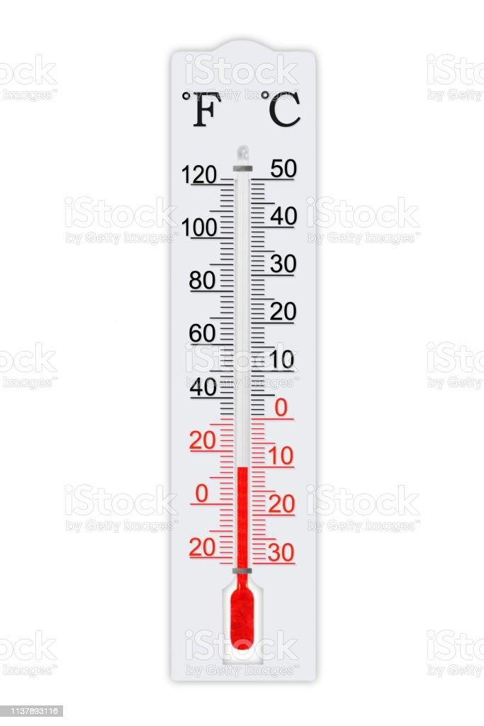 Termometro De Meteorologia A Escala Fahrenheit Y Celsius Para Medir La Temperatura Del Aire Termometro Aislado Sobre Fondo Blanco Temperatura Del Aire Mas 14 Grados Fahrenheit Foto De Stock Y Mas Banco En el vídeo os explico cómo conseguir una fórmula a través de la otra y así no tener que recordar ambas fórmulas. termometro de meteorologia a escala fahrenheit y celsius para medir la temperatura del aire termometro aislado sobre fondo blanco temperatura del aire mas 14 grados fahrenheit foto de stock y mas banco