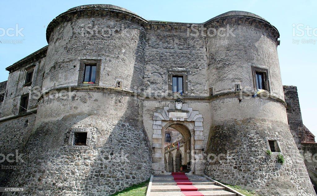 Faicchio, Benevento, Campania, Italia, castello ducale - foto stock
