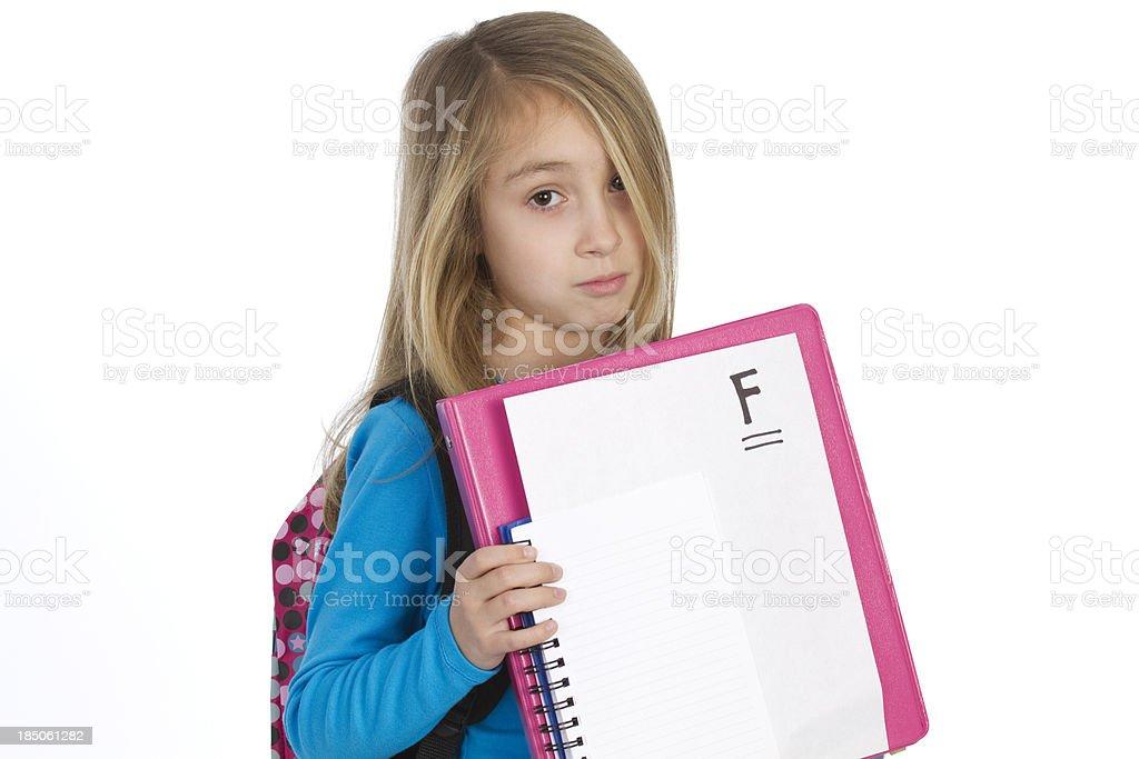 failing grade school concept stock photo