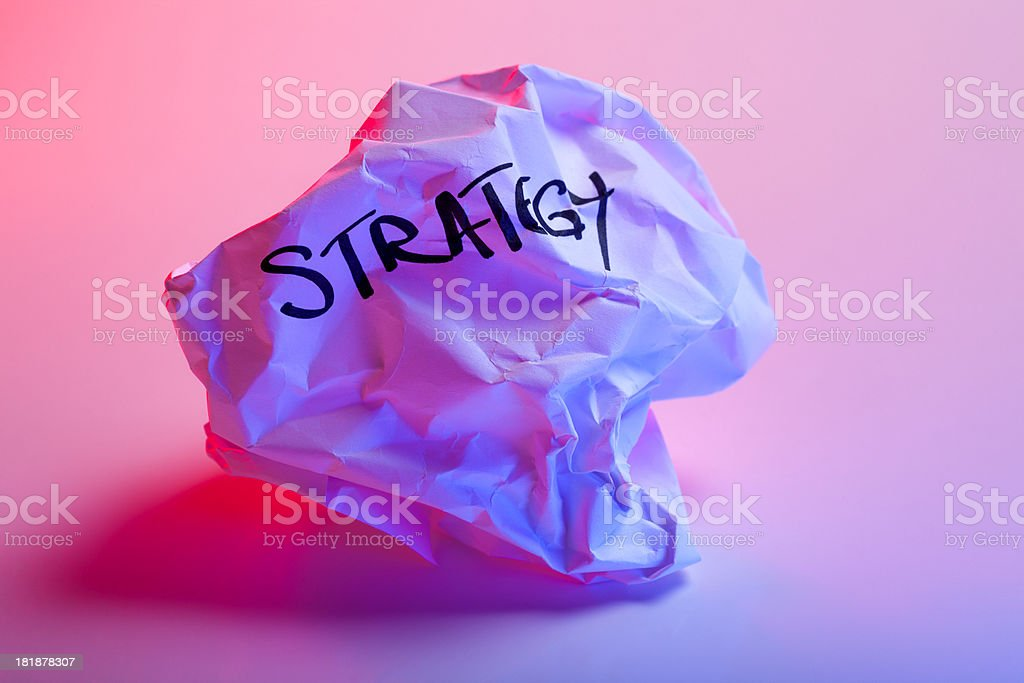 failure concept - Strategy royalty-free stock photo