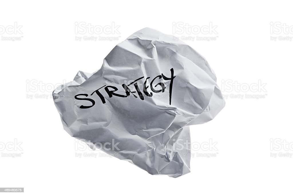 failure concept - strategy stock photo
