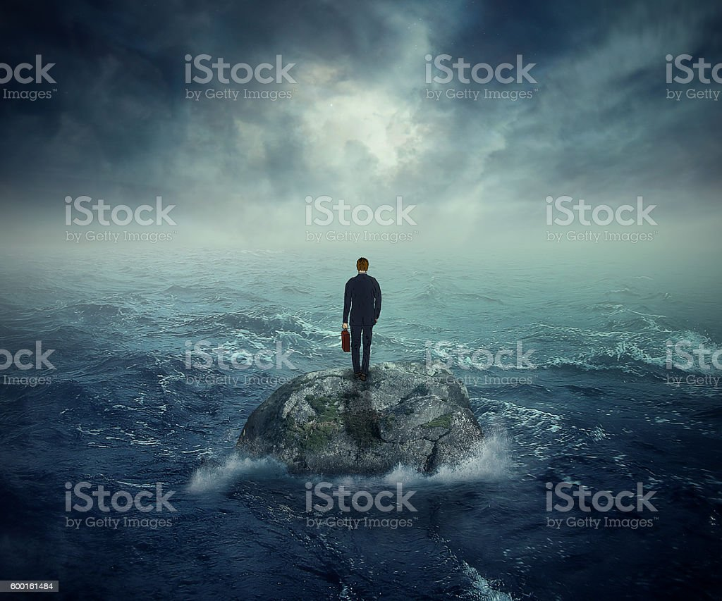 Failure crisis concept lost business career education opportunity royalty-free stock photo