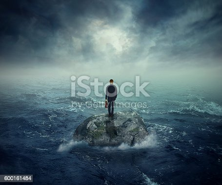 istock Failure crisis concept lost business career education opportunity 600161484