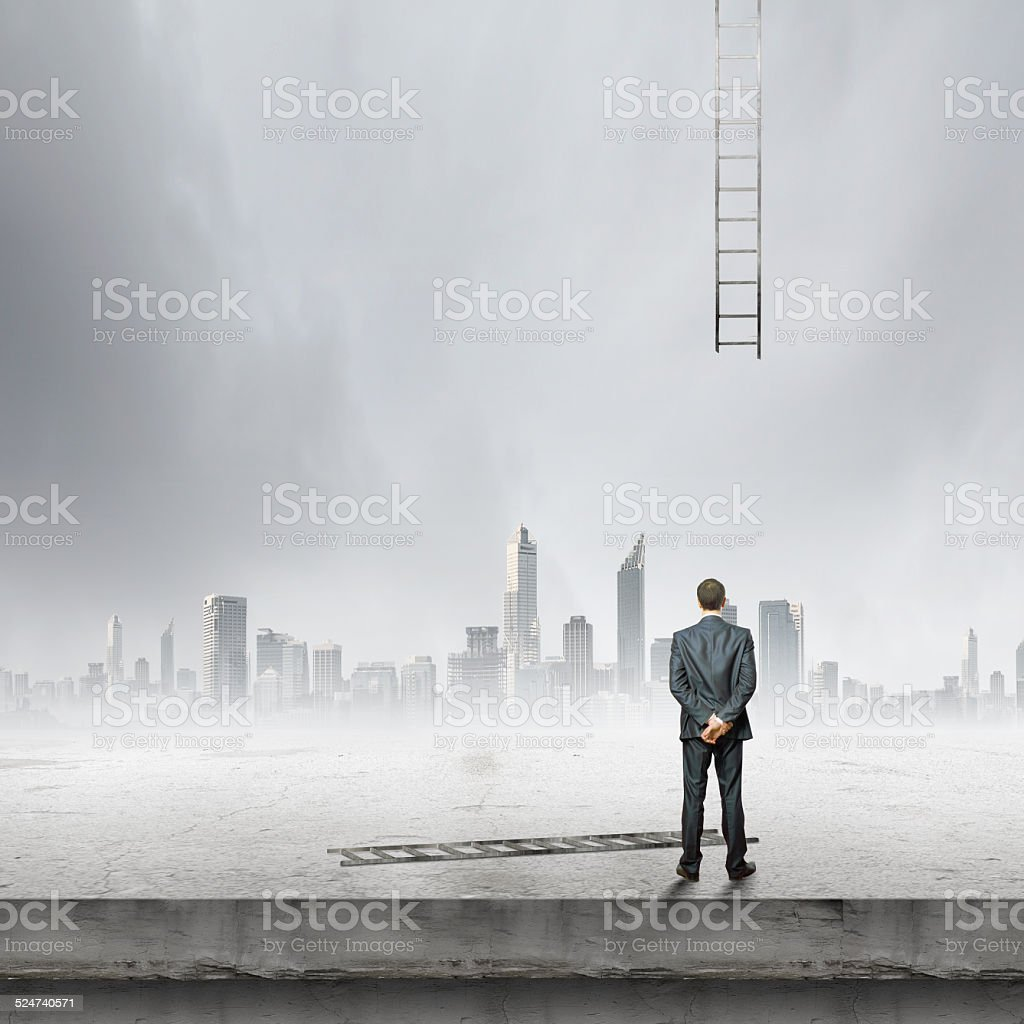 Failure in business stock photo