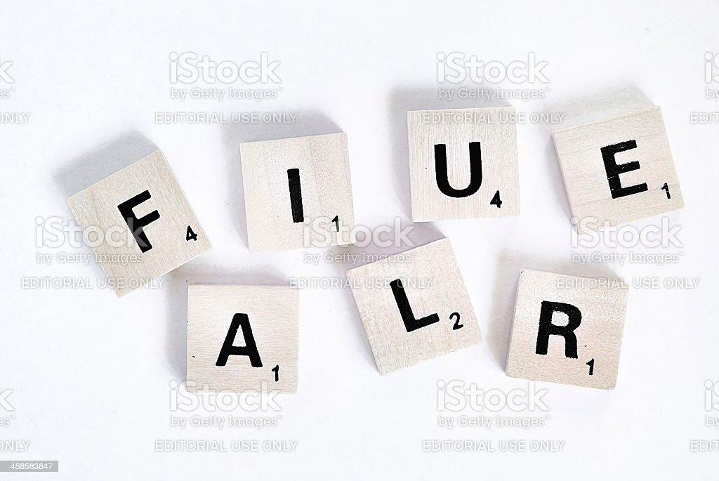 Failure royalty-free stock photo