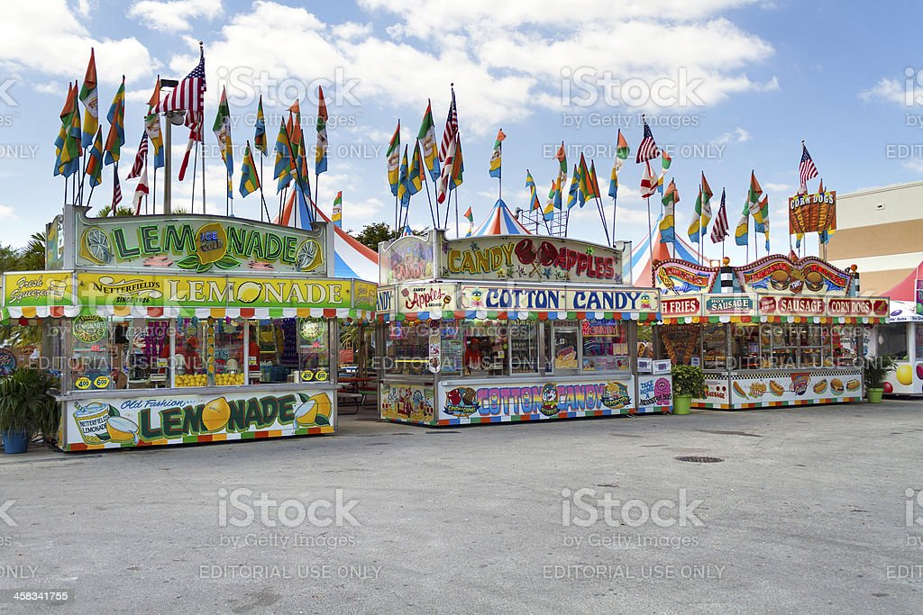 Fair at Miami stock photo