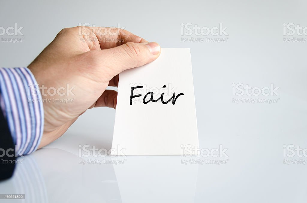 Fair concept stock photo
