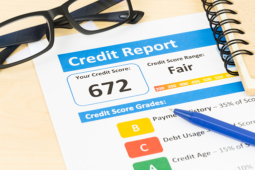 what is a fair credit score 2014