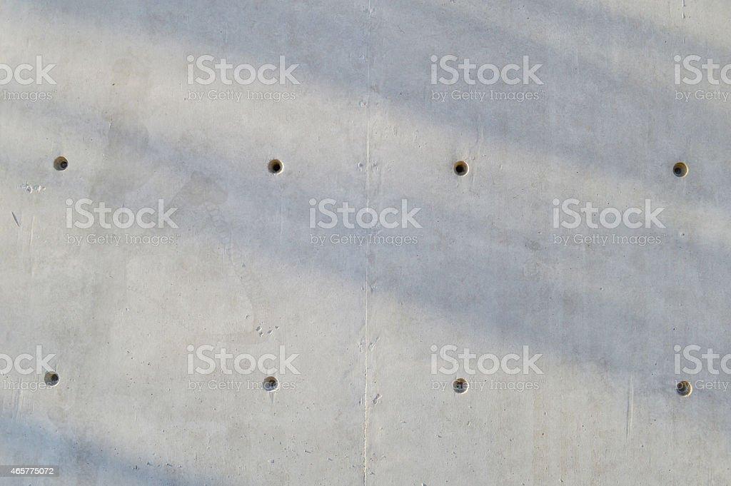 Fair faced concrete wall stock photo