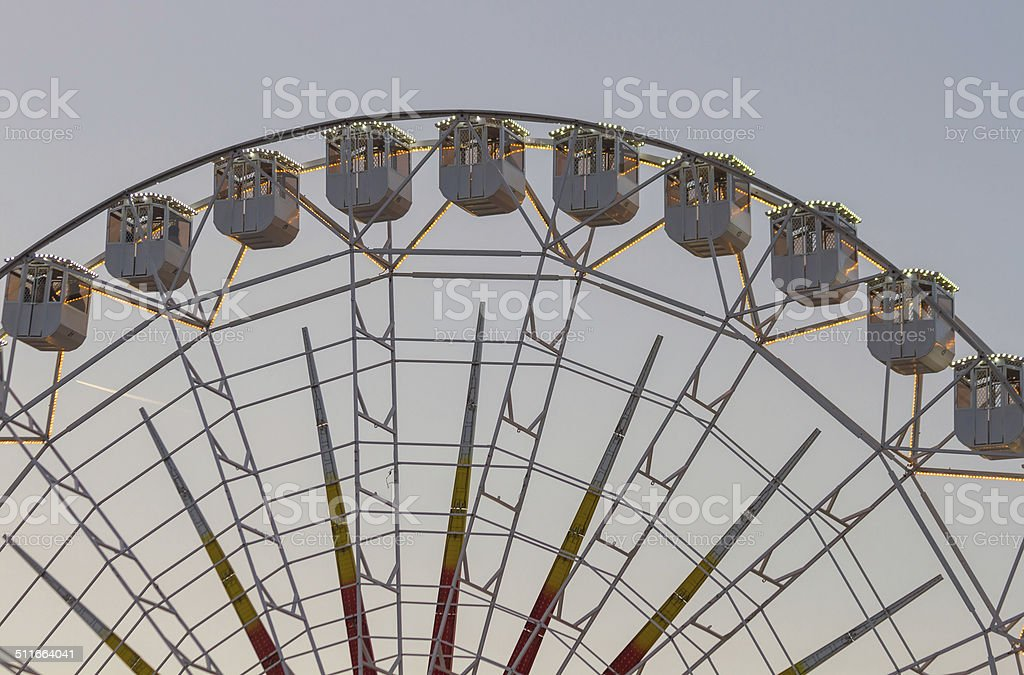Fair Ferris Wheel - Noria de Feria stock photo