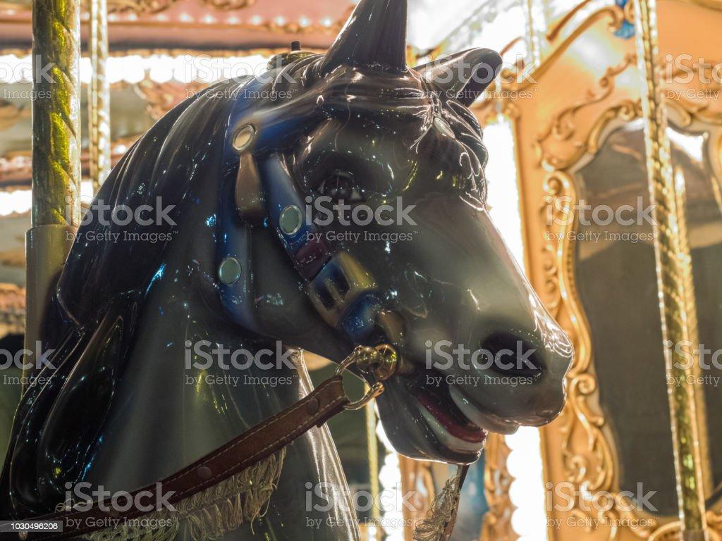 Fair horse stock photo