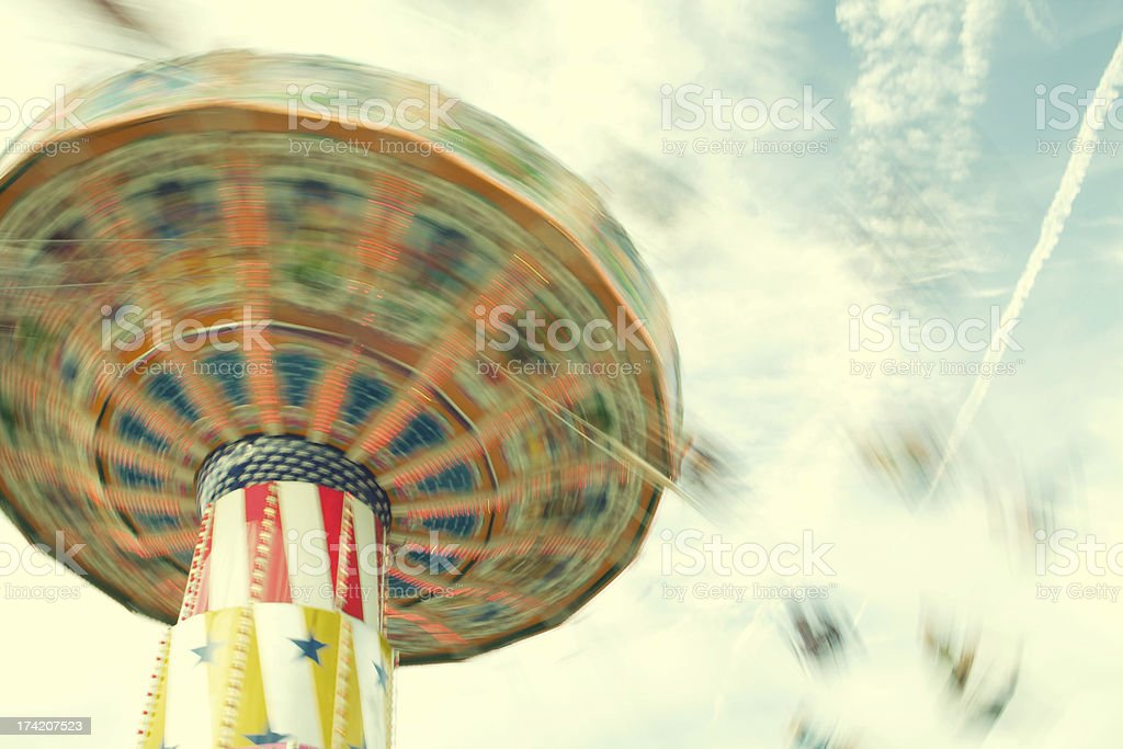 Fair Ride stock photo