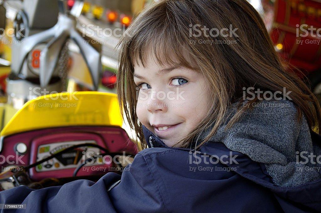 Fair ride royalty-free stock photo