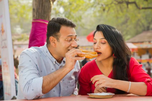 fair, Surajkund, Faridabad, Haryana, India - Stock image India, People romance stock pictures, royalty-free photos & images