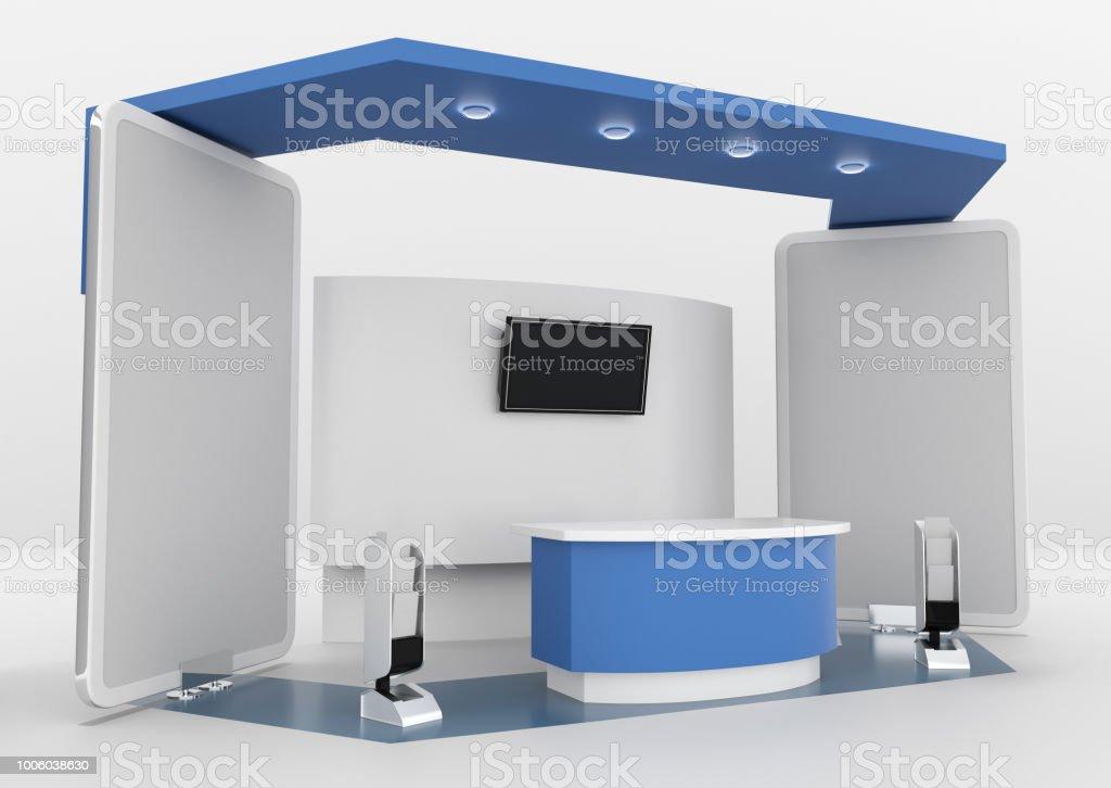 Fair Trade Booth or Kiosk stock photo