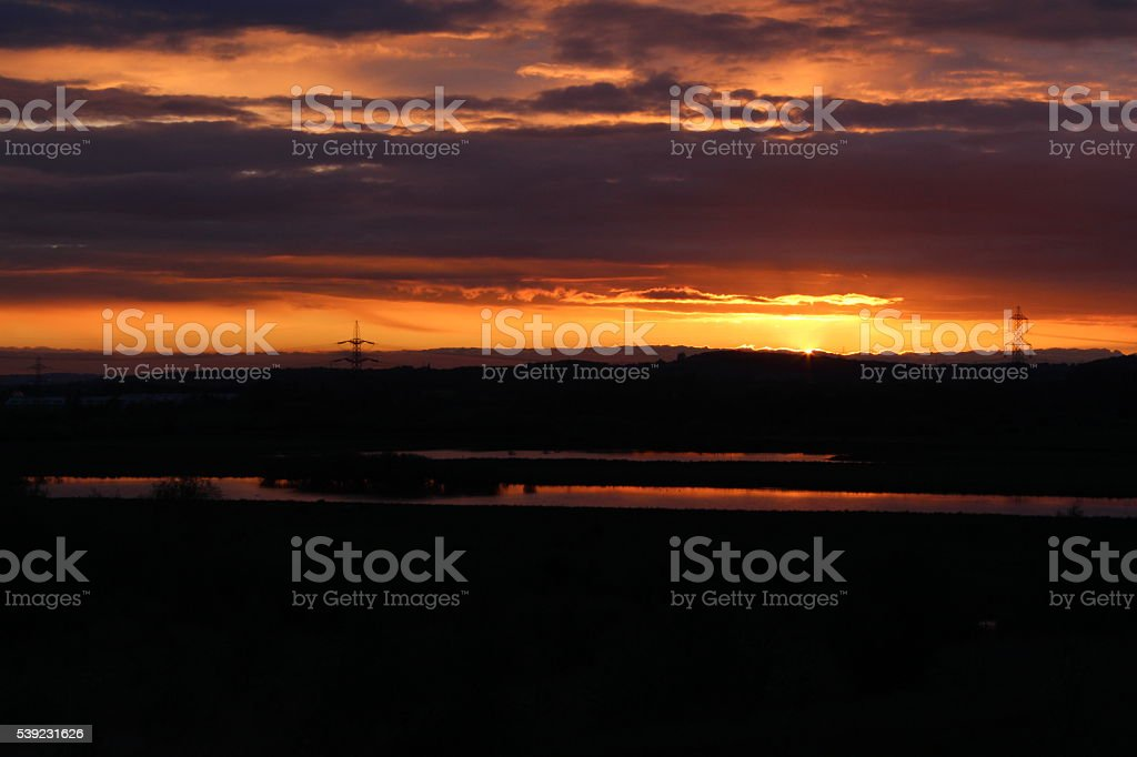 Fairburn Ings 1 royalty-free stock photo
