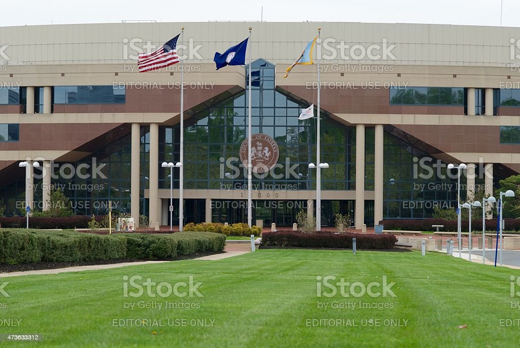 Fairfax County Government Center stock photo