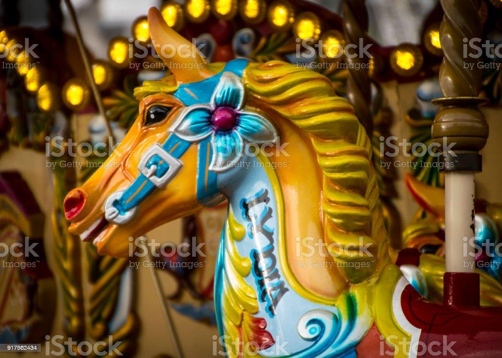 Fairground Carousel Horse Stock Photo Download Image Now Istock