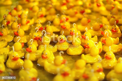istock Fairground hook a rubber duck chance game 902260610