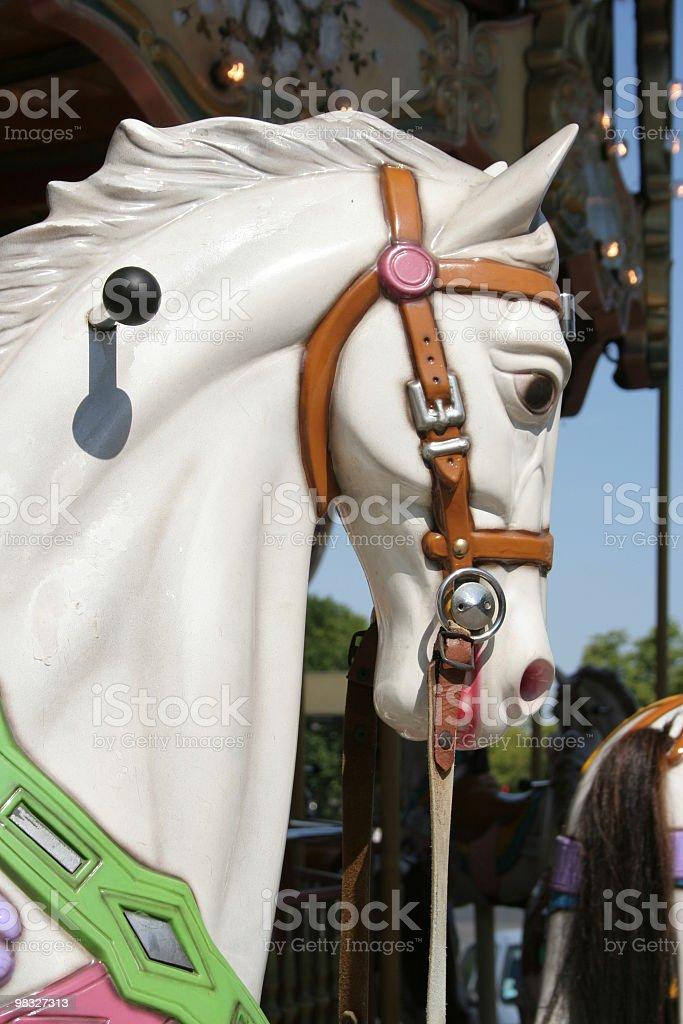 Fiera di cavallo foto stock royalty-free