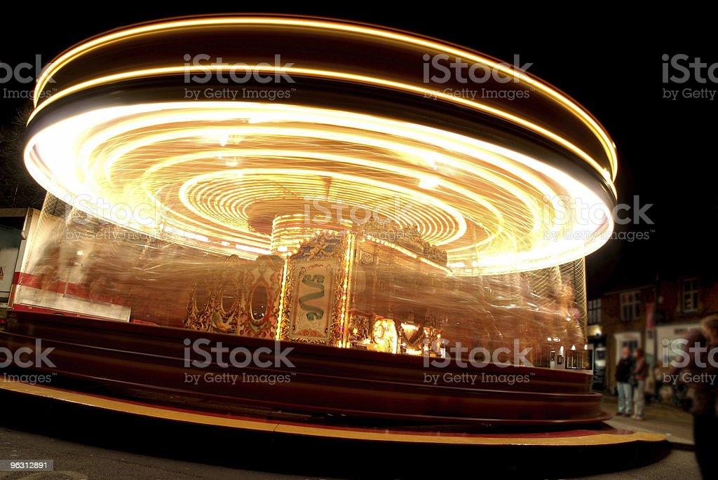 fairground ride - Royaltyfri Fart Bildbanksbilder