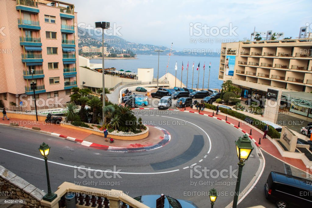 Fairmont Hairpin or Loews Curve stock photo