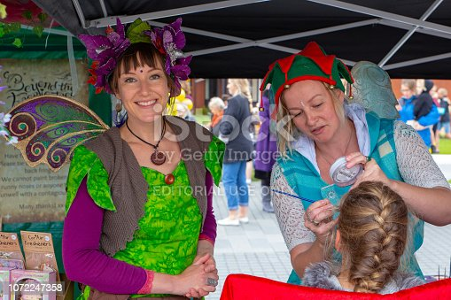 istock Fairy and Facepainting 1072247358