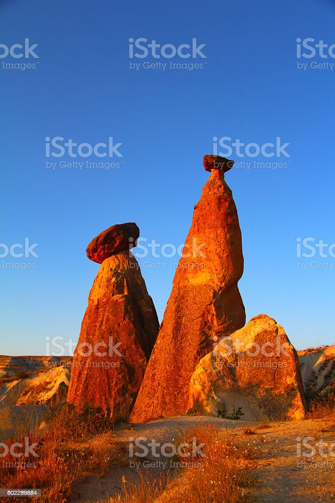 Fairy Chimney landscape stock photo