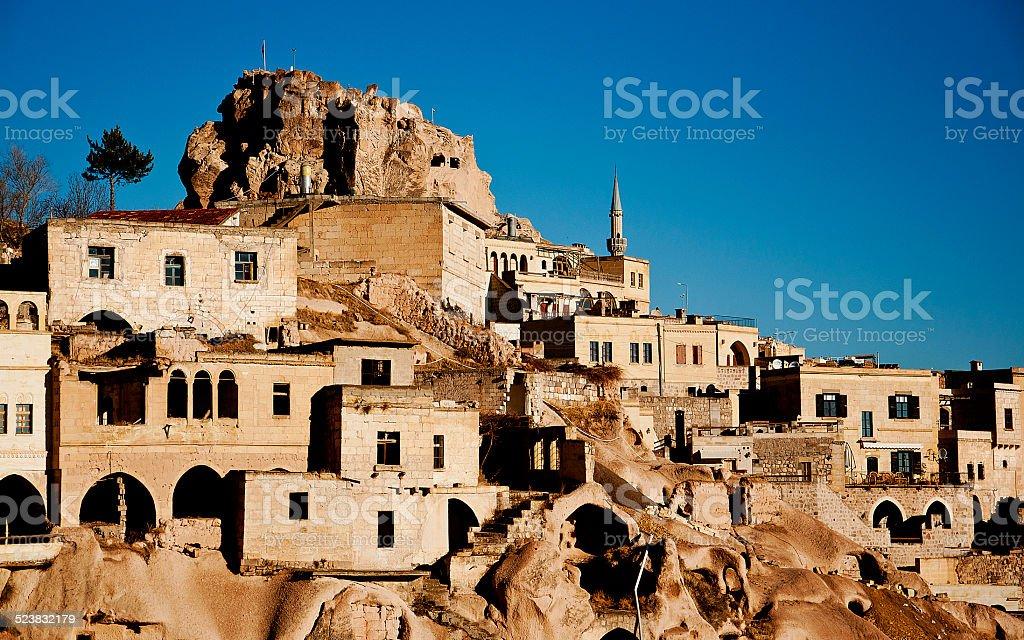 Fairy Chimneys And Cappadocia stock photo