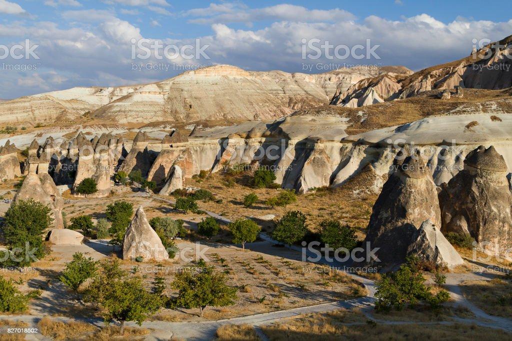 Photo Libre De Droit De Cheminees De Fees Cappadoce Turquie Banque D