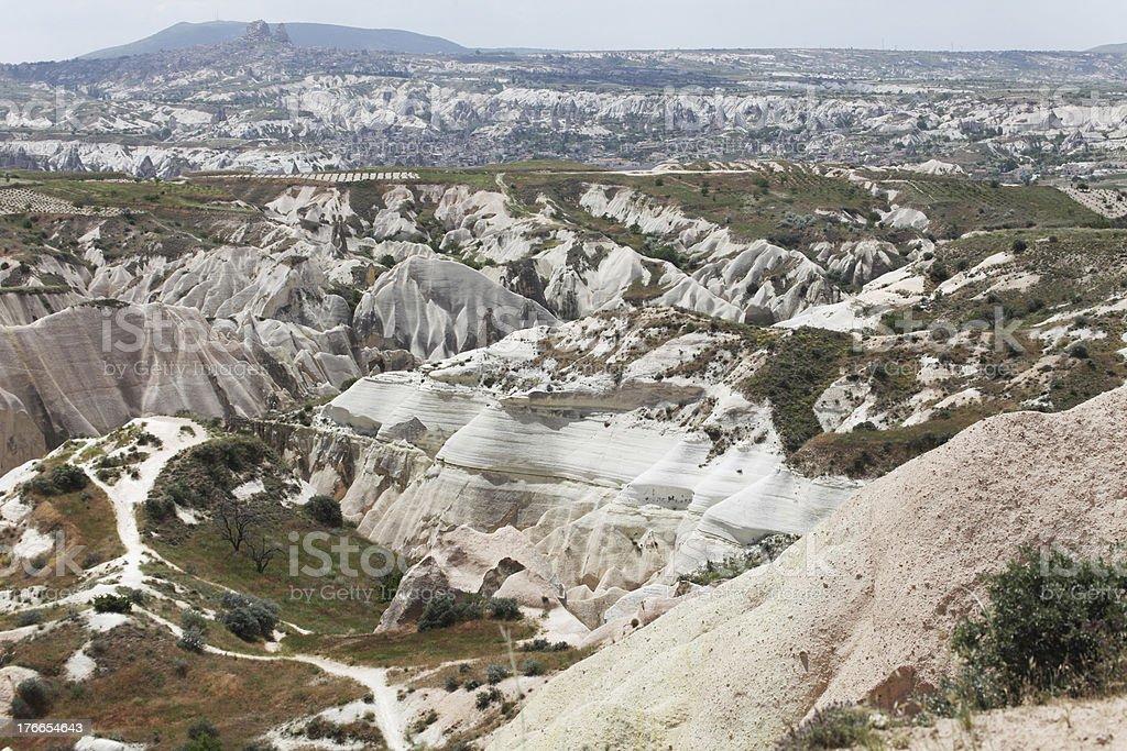 Chimeneas de Hadas en Capadocia foto de stock libre de derechos
