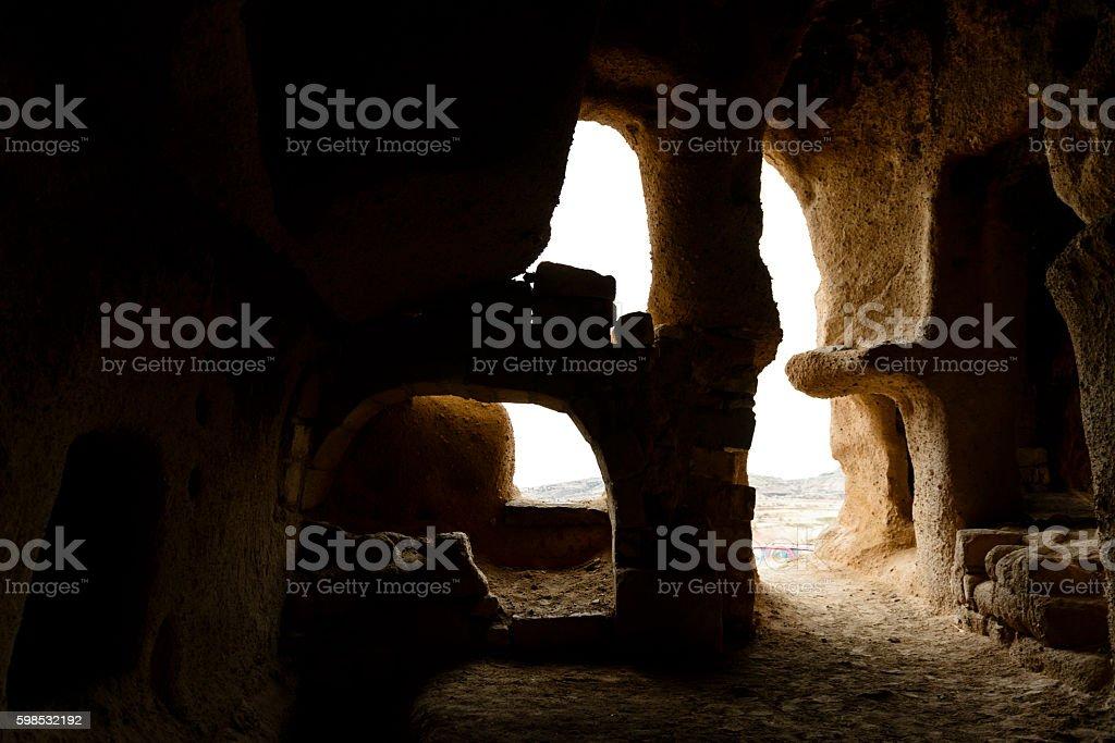 Cheminées de fées à Cappadoce, Turquie photo libre de droits