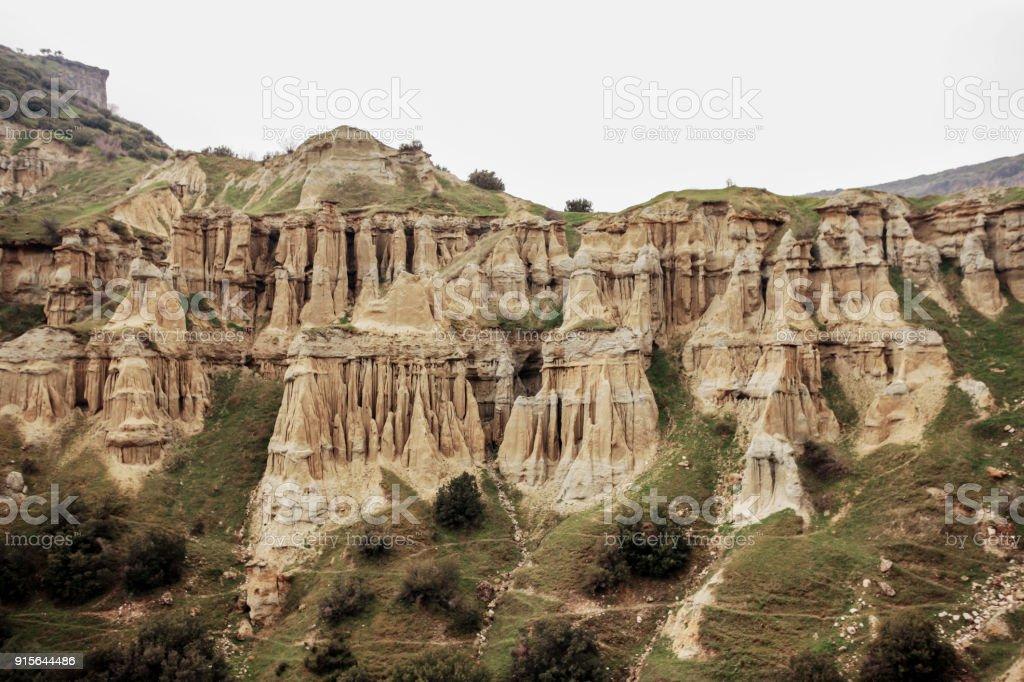 Cheminees De Fees Kula Geoparc Manisa Turquie Photos Et Plus D