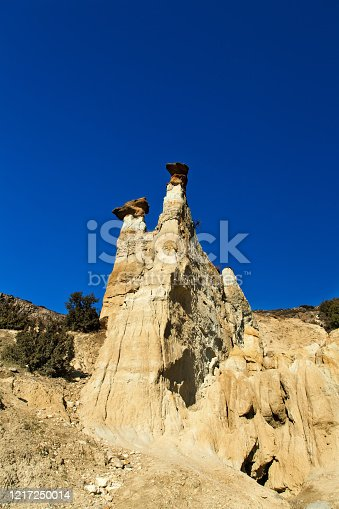 Fairy Chimneys Kuladokya in Kula, Manisa.