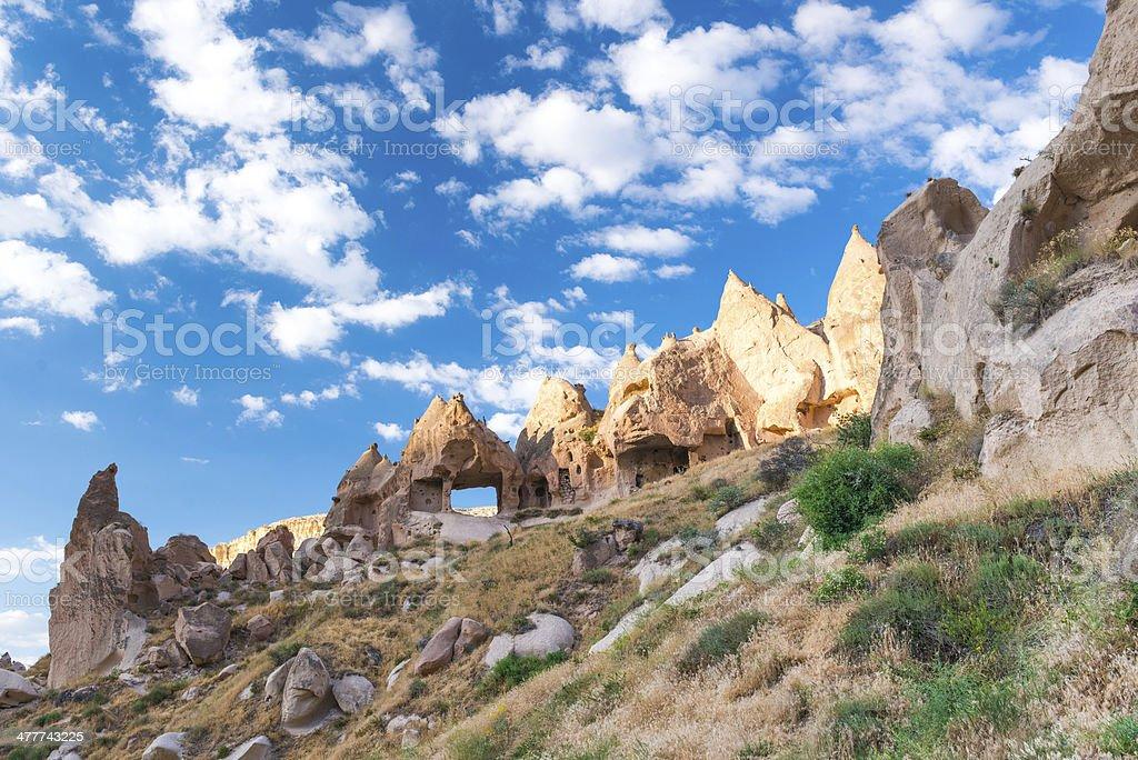 Fairy Chimneys stock photo