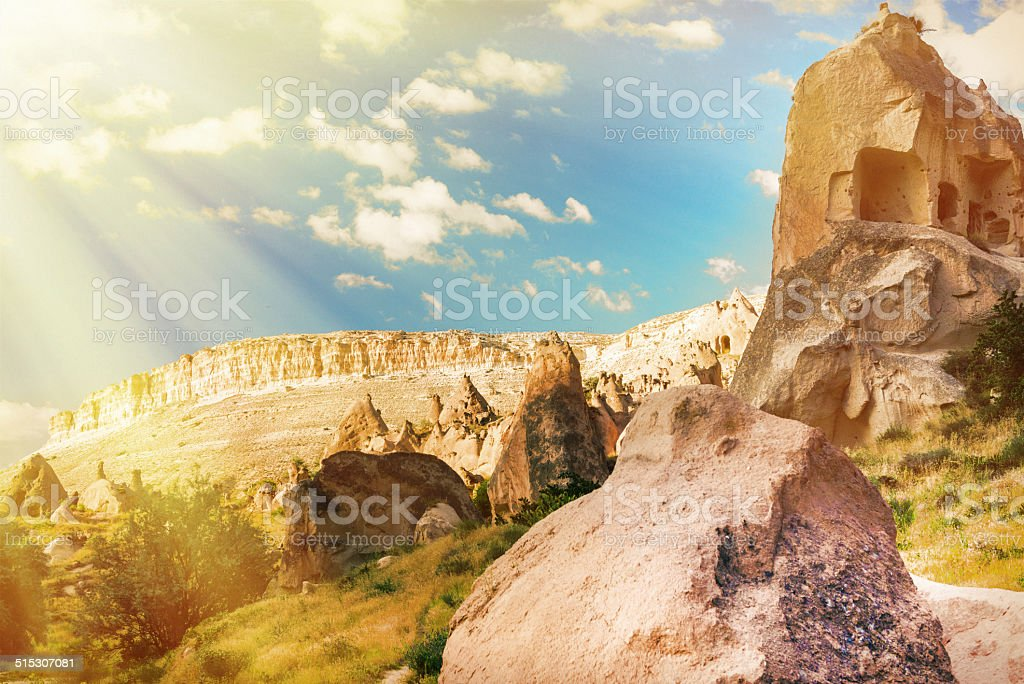 Fairy Chimneys stock photo