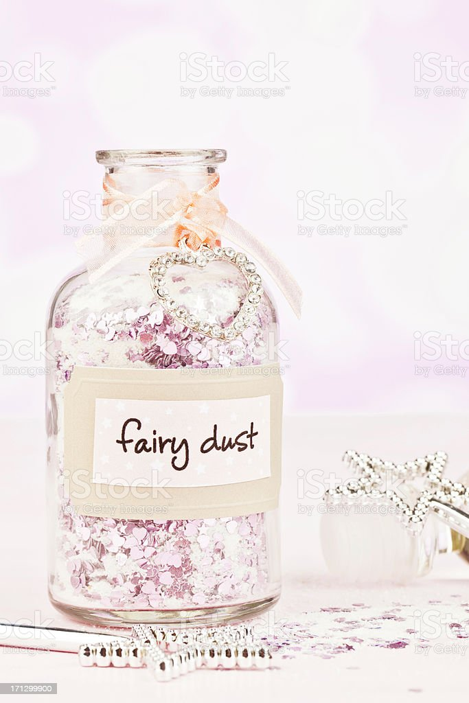 Fairy Dust and Magic Wands stock photo