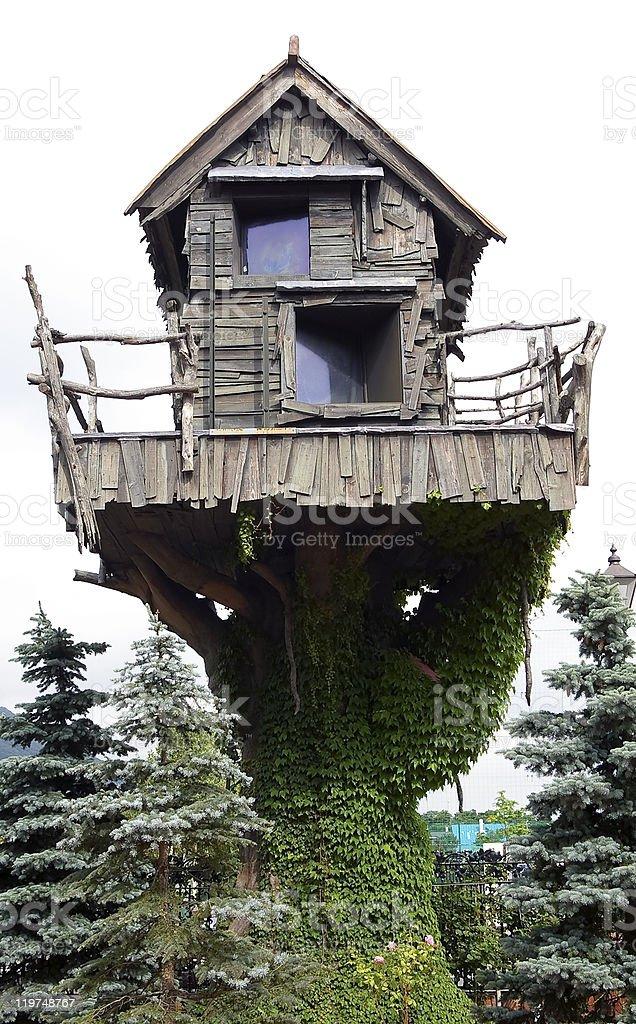 Fairy house royalty-free stock photo